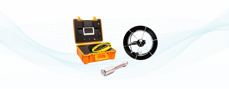 Viemärikamerat, putki- ja rakennekamerat+tarvikkeet