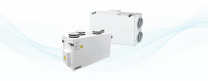 Airsec ja Vallox ilmanvaihtokoneet